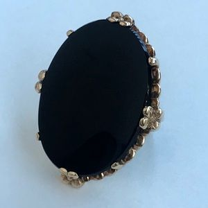 Jewelry - SOLD! 10k large onyx ring